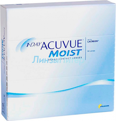 1 Day Acuvue moist 90 шт.