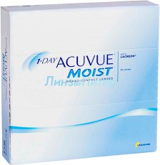 1 Day Acuvue moist 90 шт.