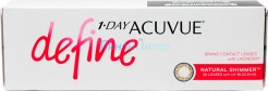 Acuvue 1-Day Define Natural Shimmer