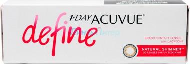 Acuvue 1-Day Define Natural Shimmer