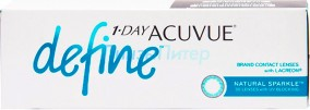 Acuvue 1-Day Define Natural Sparkle 30pk