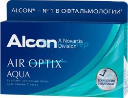 Air Optix Aqua 6 шт.