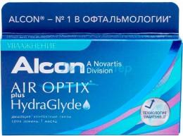 Air Optix plus HydraGlyde 3pk