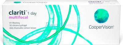 Clariti 1-Day Multifocal, 30pk D +2, аддидация Low