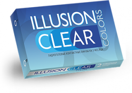 Illusion Clear 2pk